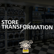 Store Transformation - Allways Motorcycles