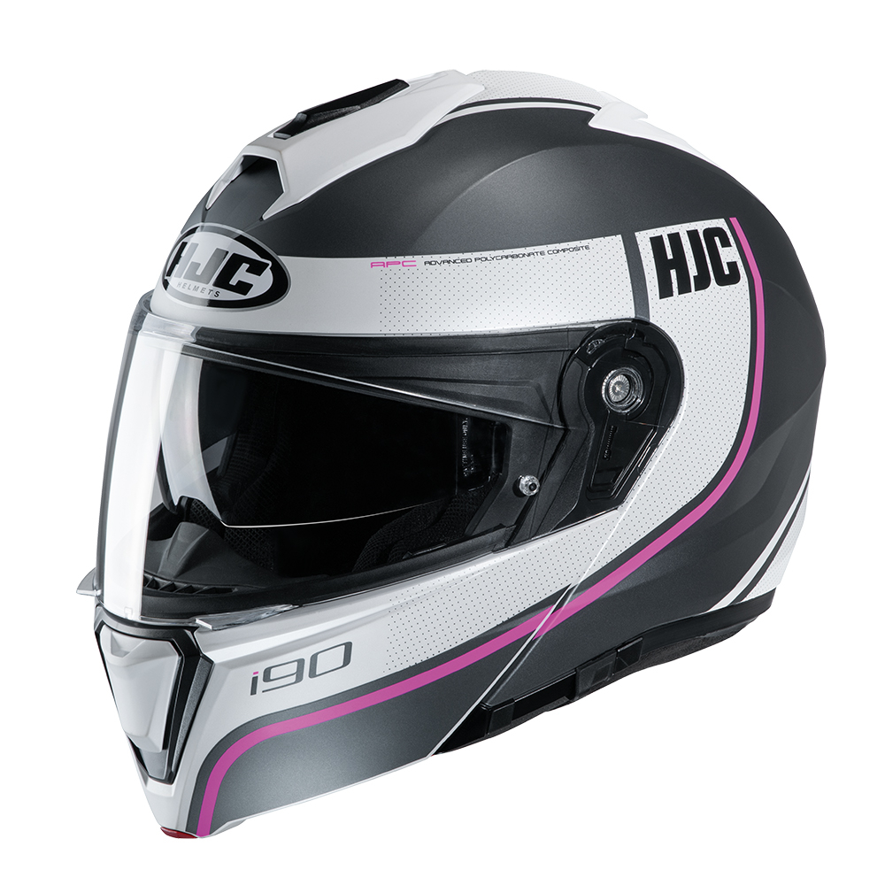 HJC I90 Davan MC8SF Pink