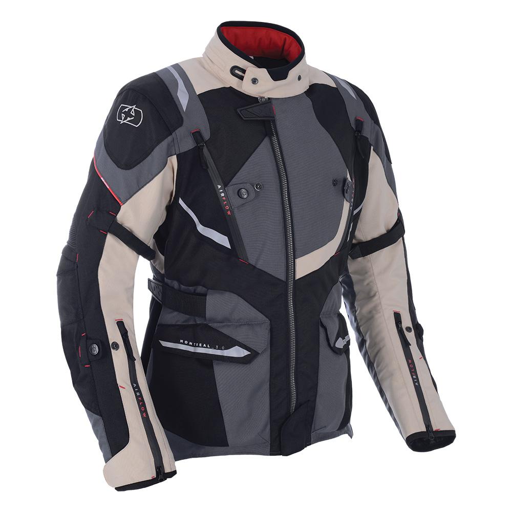 Oxford Montreal 3.0 Textile Jacket Desert