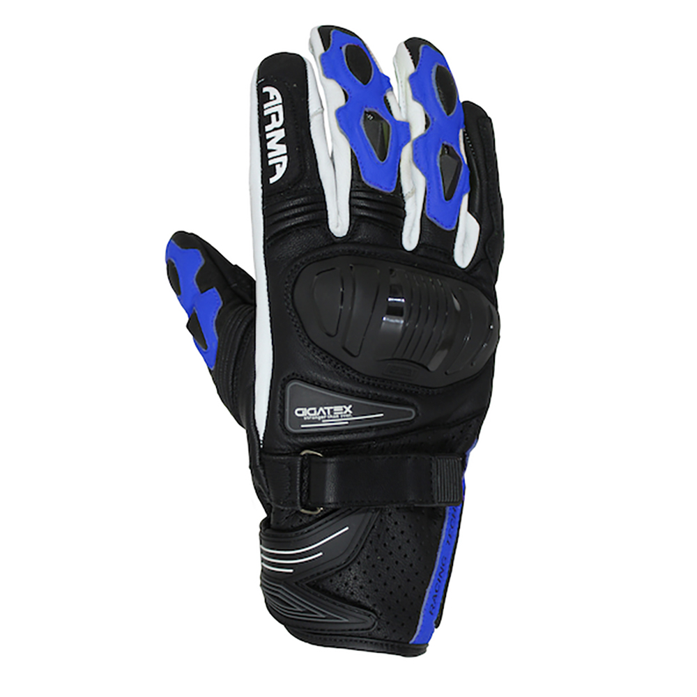 ARMR Shiro (S880) Glove - Black & Blue & White