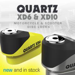 New from Oxford: Quartz XD6 & XD10 disc locks now in stock!