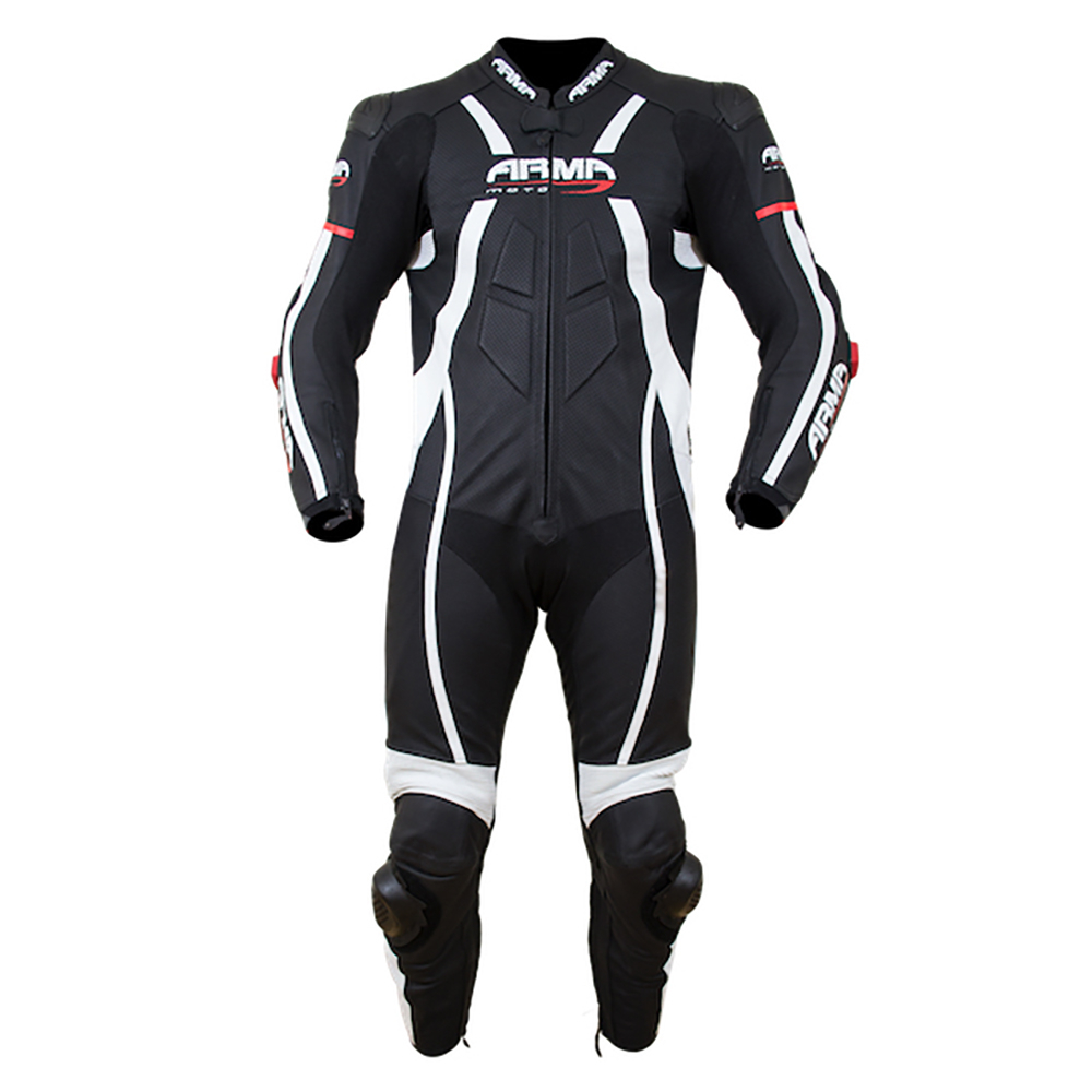 ARMR Harada R 2020 Race Suit - Black & White