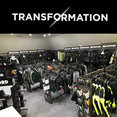 Oxford delivers another store transformation!