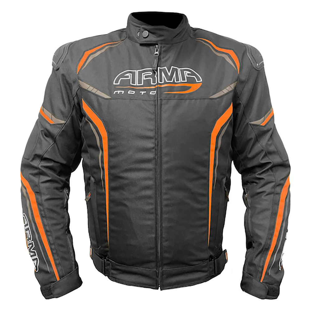 ARMR Harada R Textile Jacket - Black & Orange