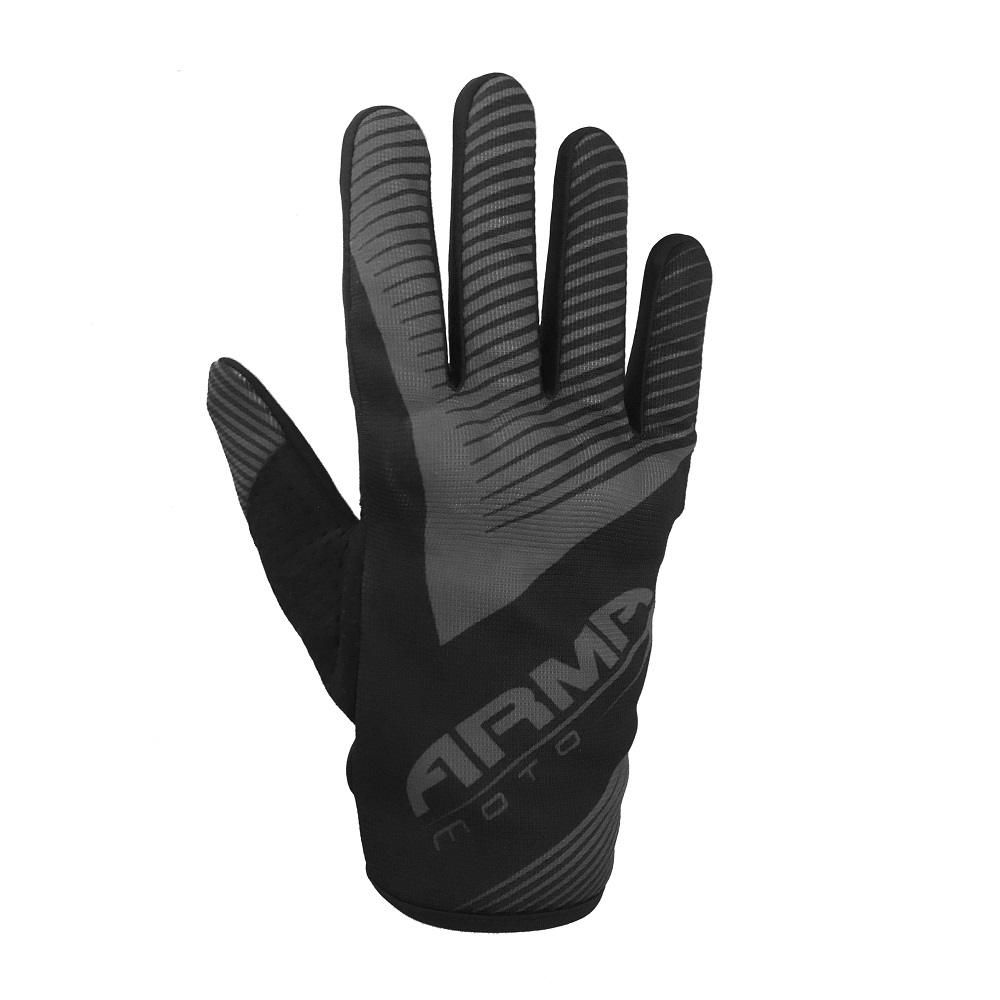 ARMR KMX8 Kids Motocross Glove - Black & Grey