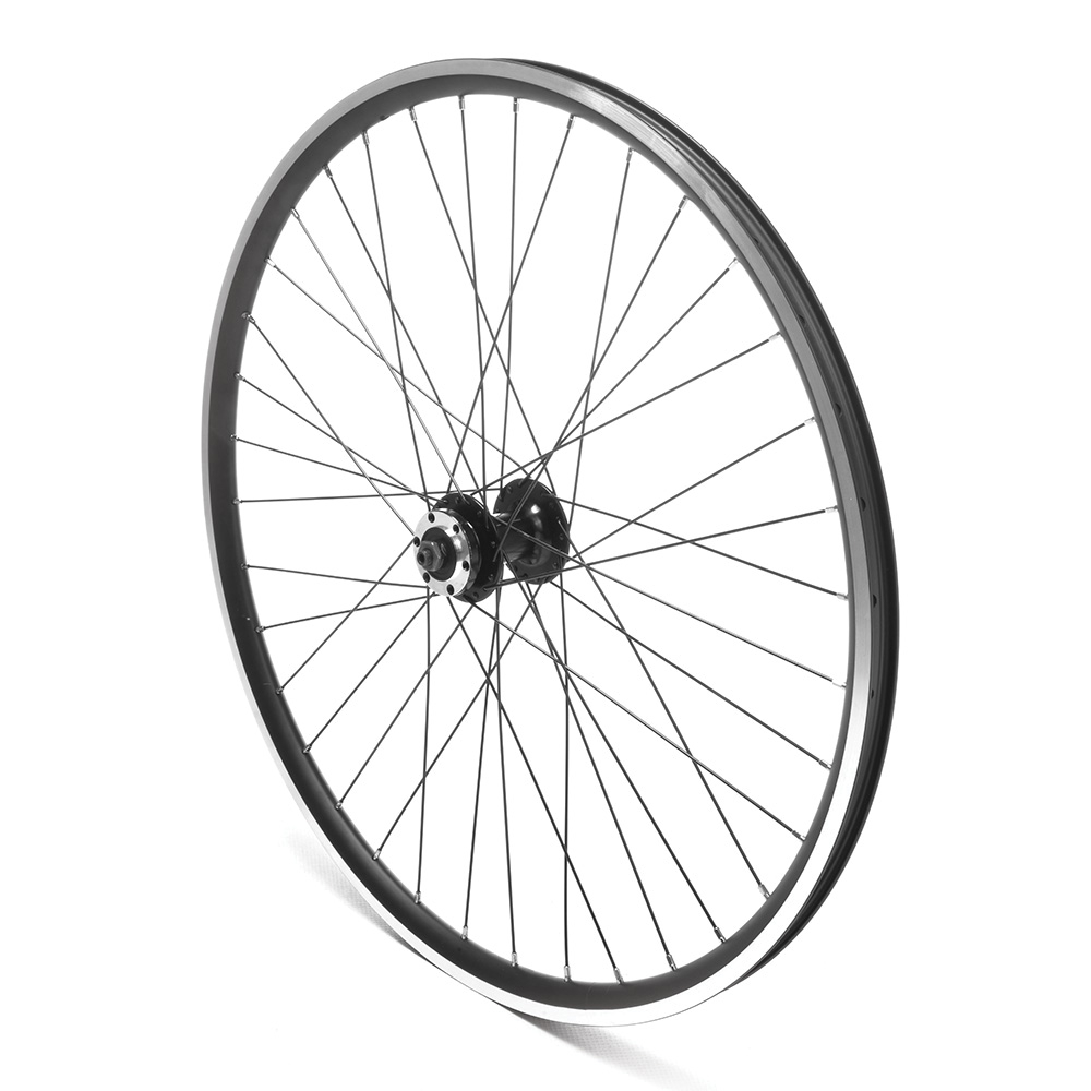 Front Wheel 29er Black Double Wall Disc Ready