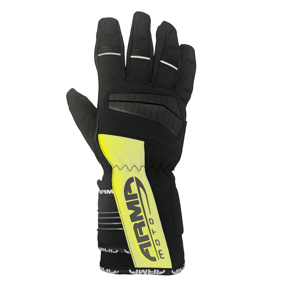 ARMR Hirama (WP845) Glove - Black & Fluo Yellow