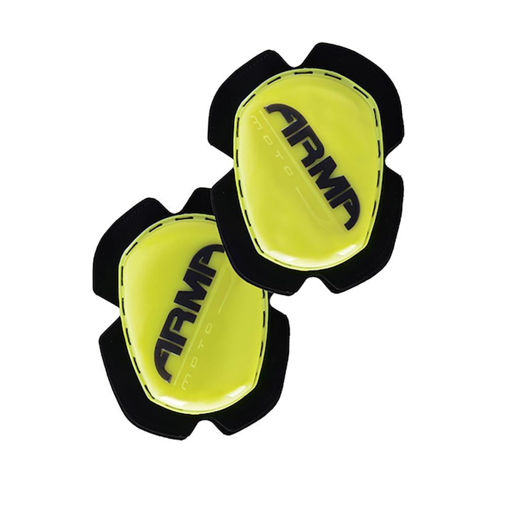 ARMR Knee Sliders Flu Yellow
