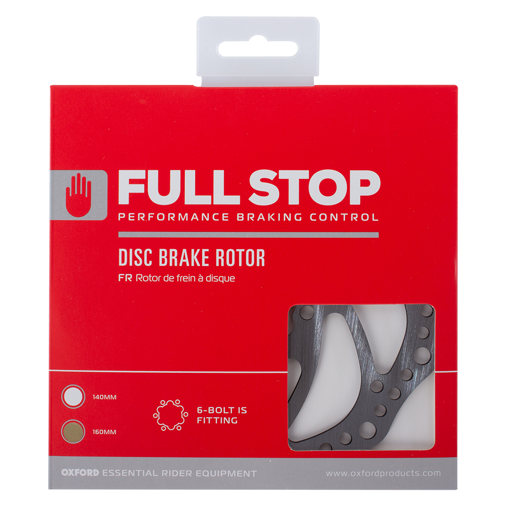 Oxford FullStop Brake Disc Rotor 160mm