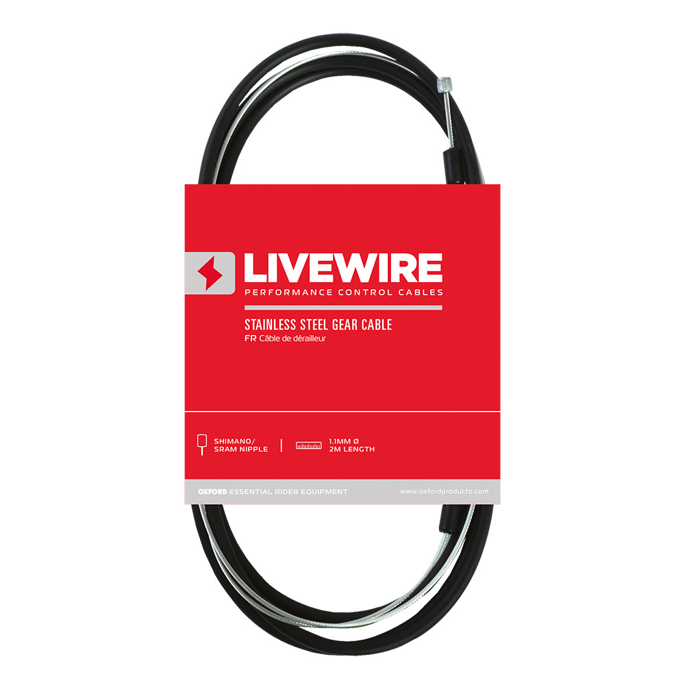 LiveWire Stainless Steel Gear Cable