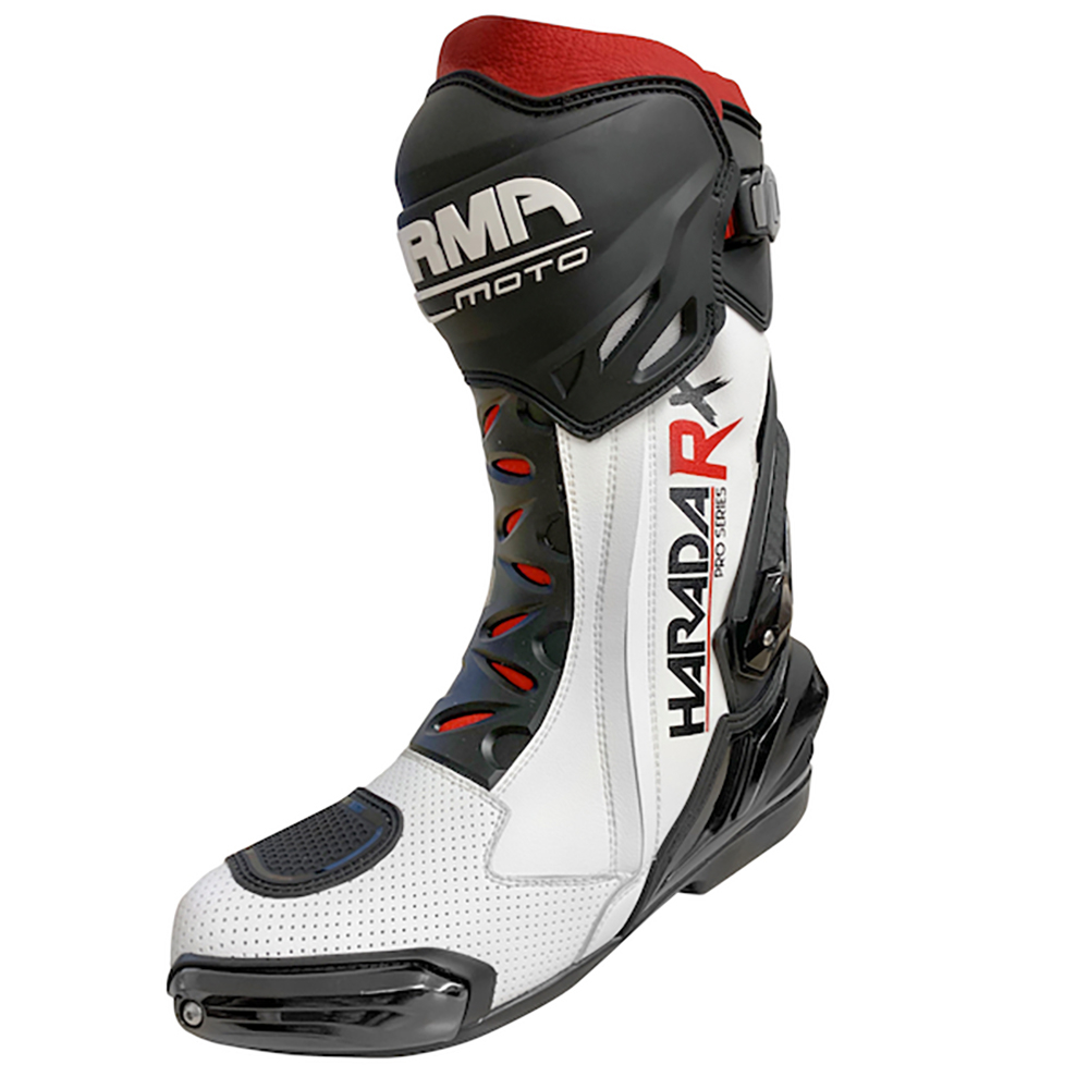 ARMR Harada RX Boots - White UK