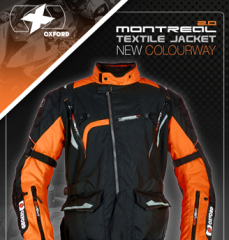 New colourways: Montreal Jacket and RP4 Gloves from Oxford!