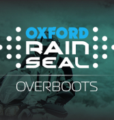Rain sealed out by Oxford over boots