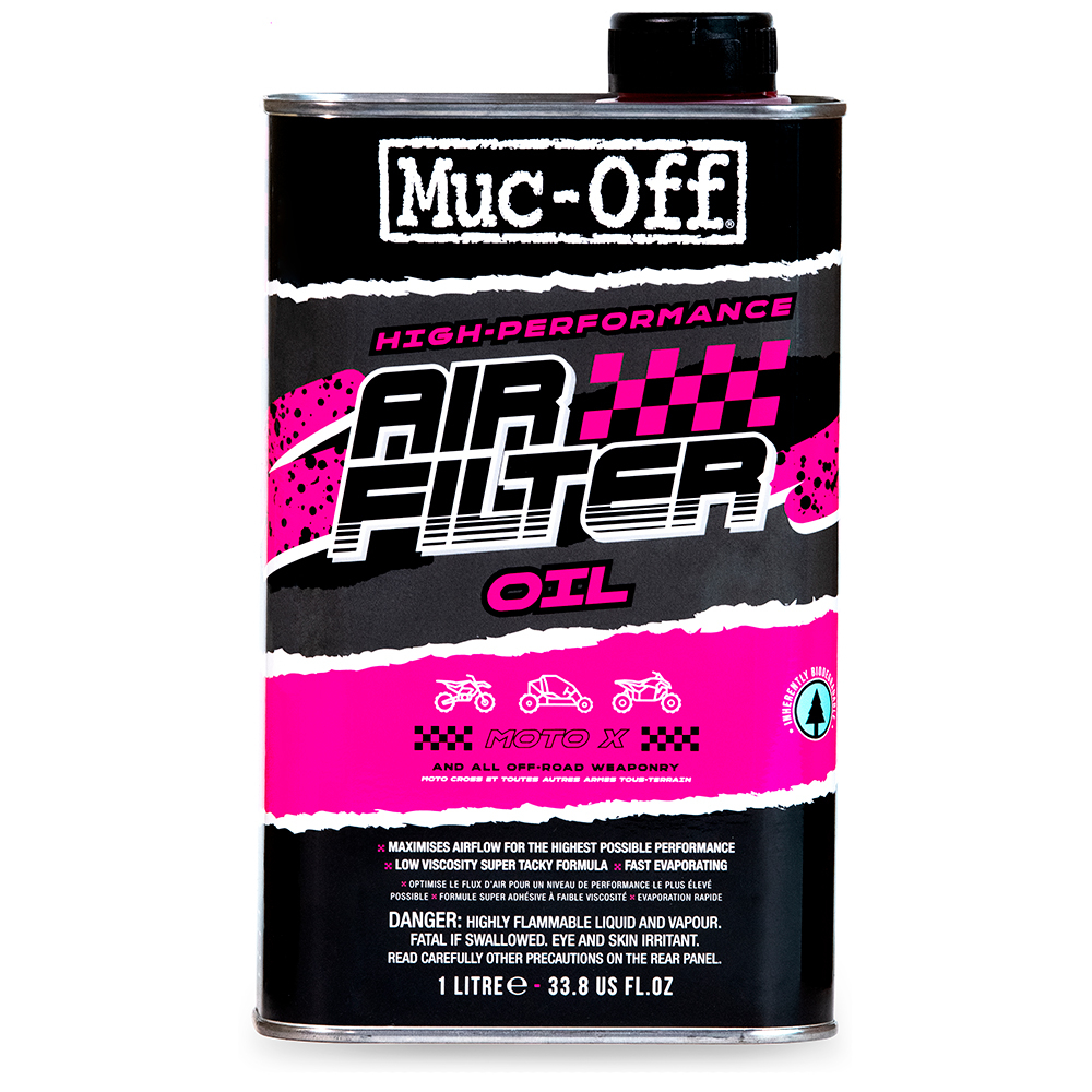 Muc-Off Motorcycle Air Filter Oil 1L (6)