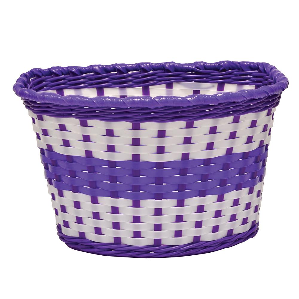 Oxford Junior Woven Basket - Lilac