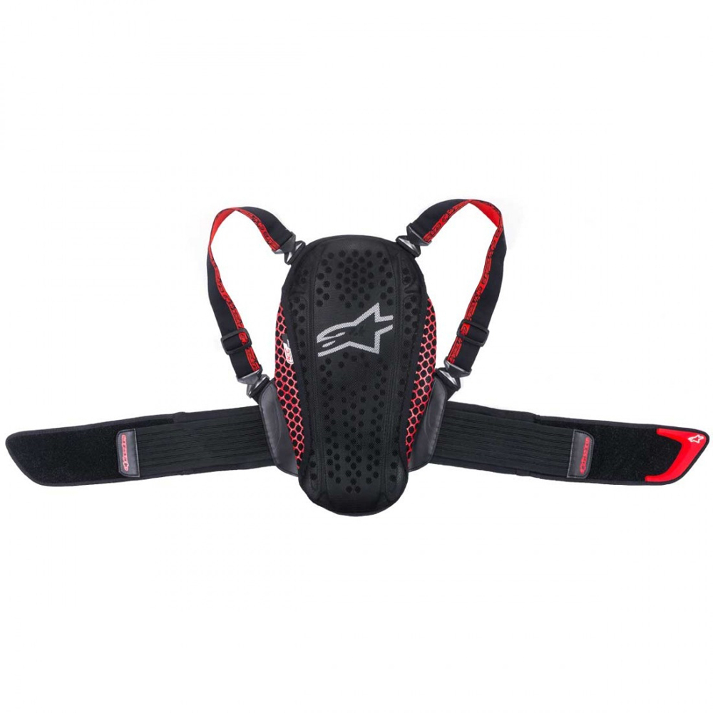 Alpinestars Nucleon Kr-Y Black/Red Youth OS