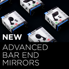 Advanced Bar End Mirrors - in stock now!
