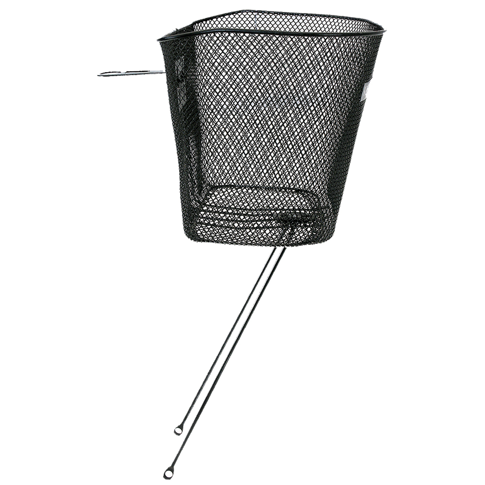 Oxford Wire Front Basket Headstock fitting - Black