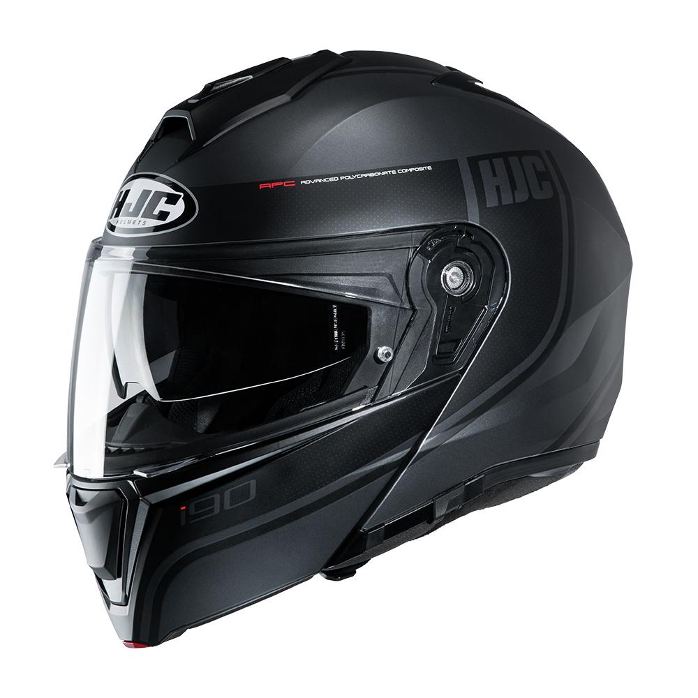 HJC I90 Davan MC5SF Black