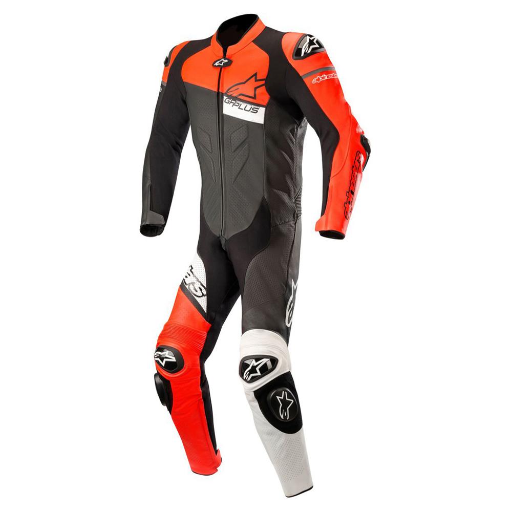 Alpinestars GP Plus Venom 1 Piece Leather Suit Black Red & White