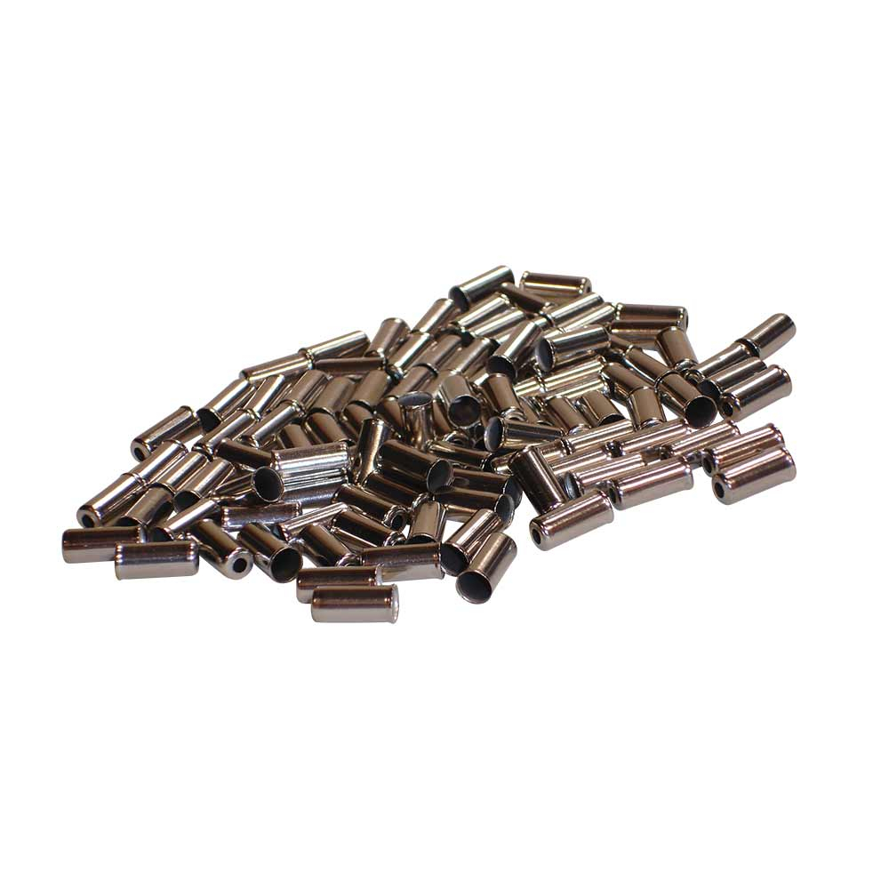 Oxford 5mm Metal Cable End Ferrules 150 pieces/bottle