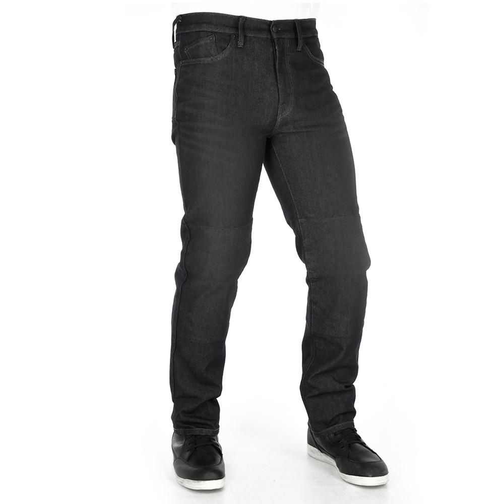 Oxford Original Approved AAA Jean Straight MS Black-Black Short