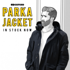Oxford's New Parka Jacket - In Stock Now