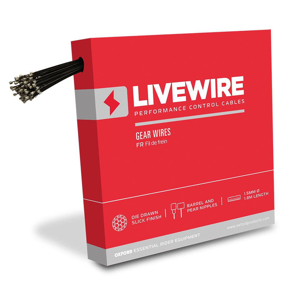 LiveWire 100 x Galvanised Gear Wires