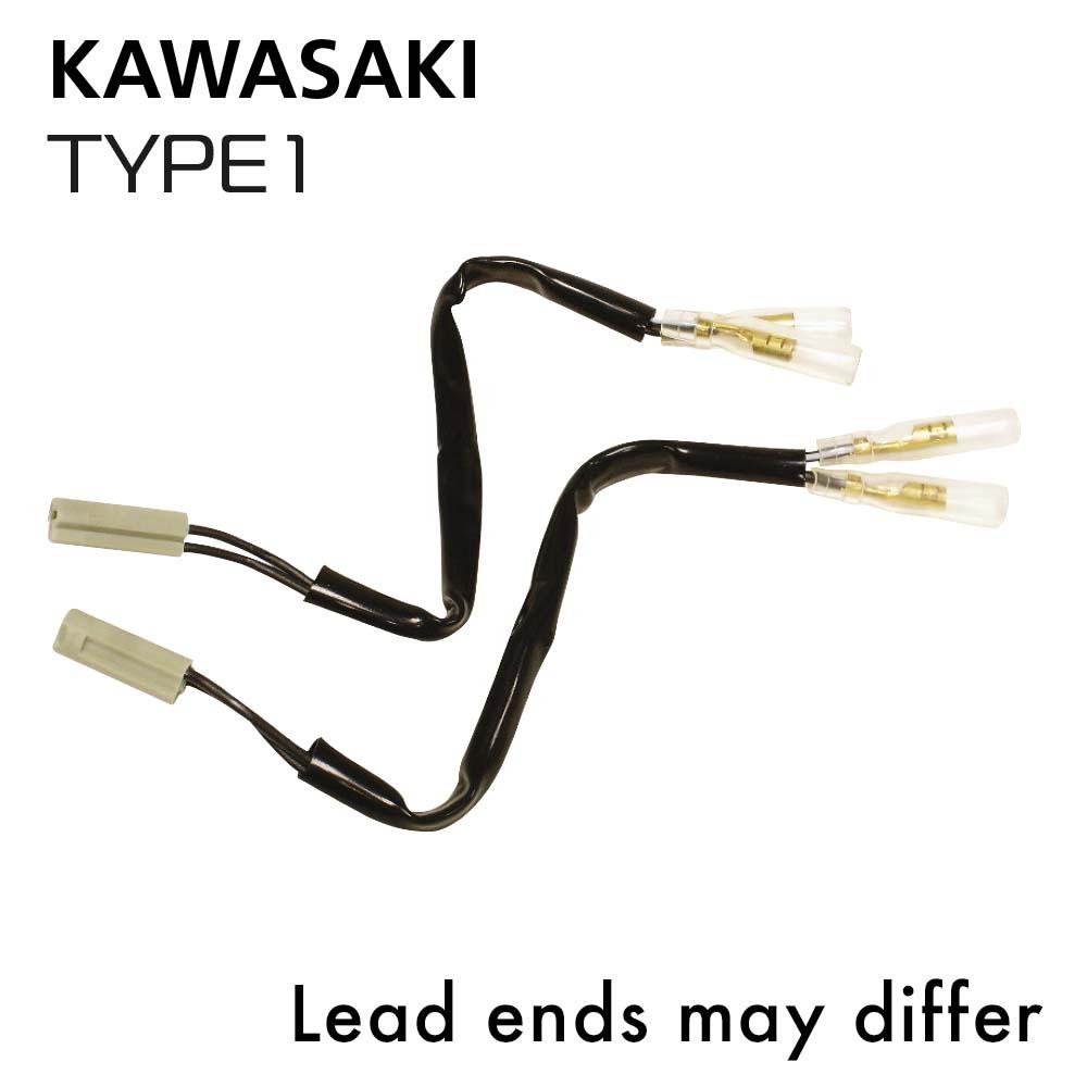 Oxford Indicator Leads Kawasaki Type 1