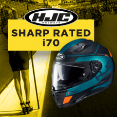 HJC i70 – now 4 star SHARP rated!