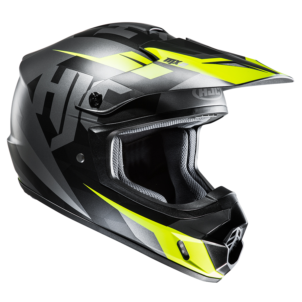 HJC CS-MX II Dakota Black & Fluo