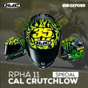 NEW - RPHA 11 Cal Crutchlow Special Helmet