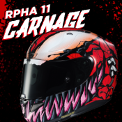 HJC RPHA 11 Carnage - in stock now!
