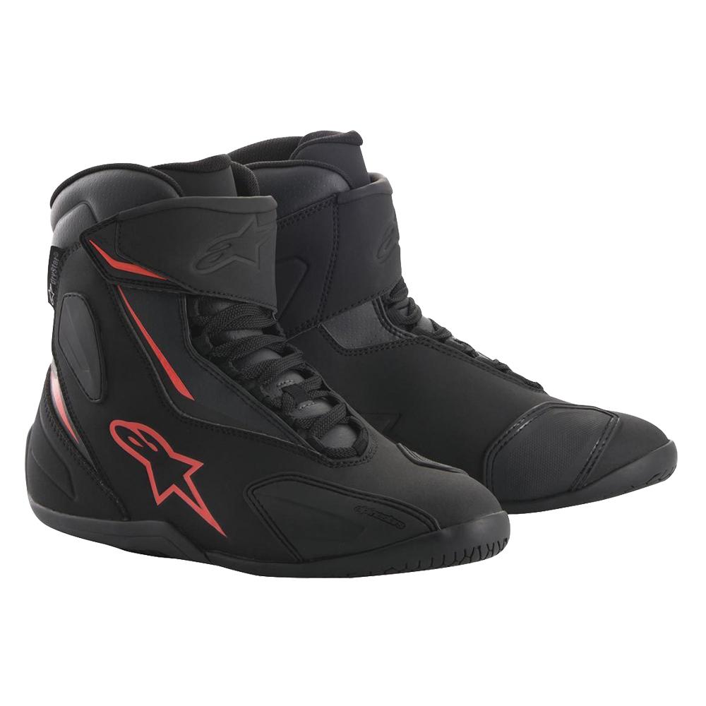 Alpinestars Fastback 2 Drystar Shoe Black Anthracite & Red