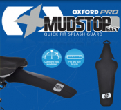 New: Oxford Mudstop Easy... Quick fit splash guard