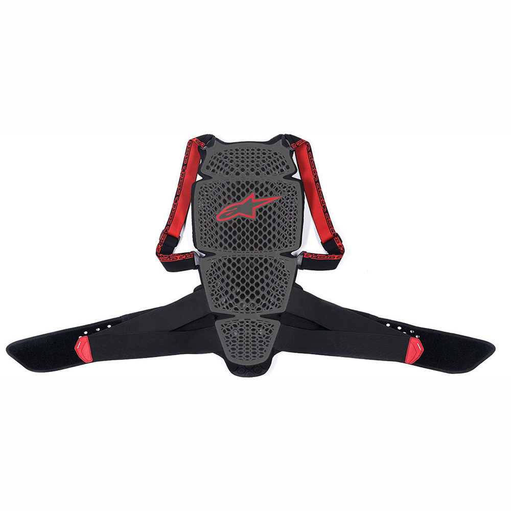 Alpinestars Nucleaon KR-Cell Smoke Black Red