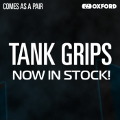 New from Oxford: Tank Grips