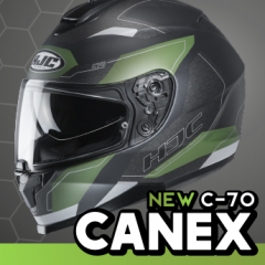HJC C-70 Canex - in stock now!