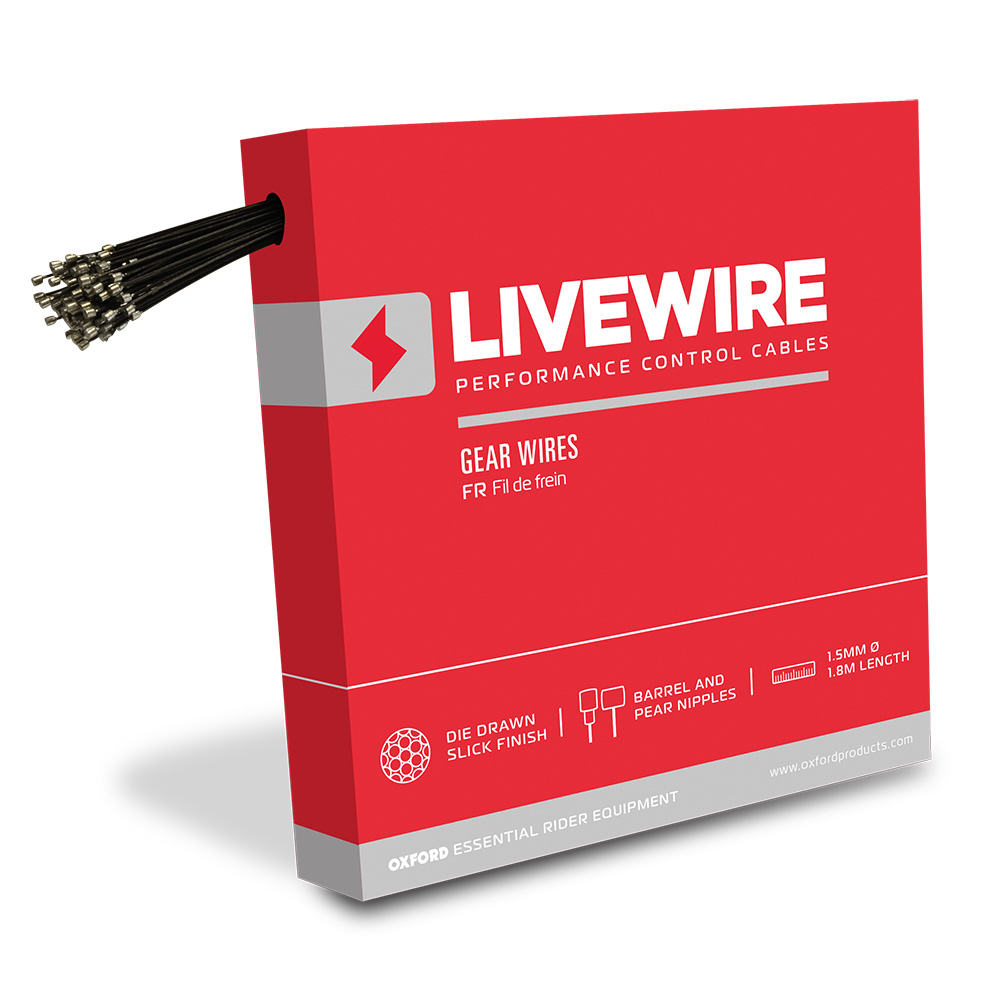 LiveWire 100 x S/Steel Gear Wires