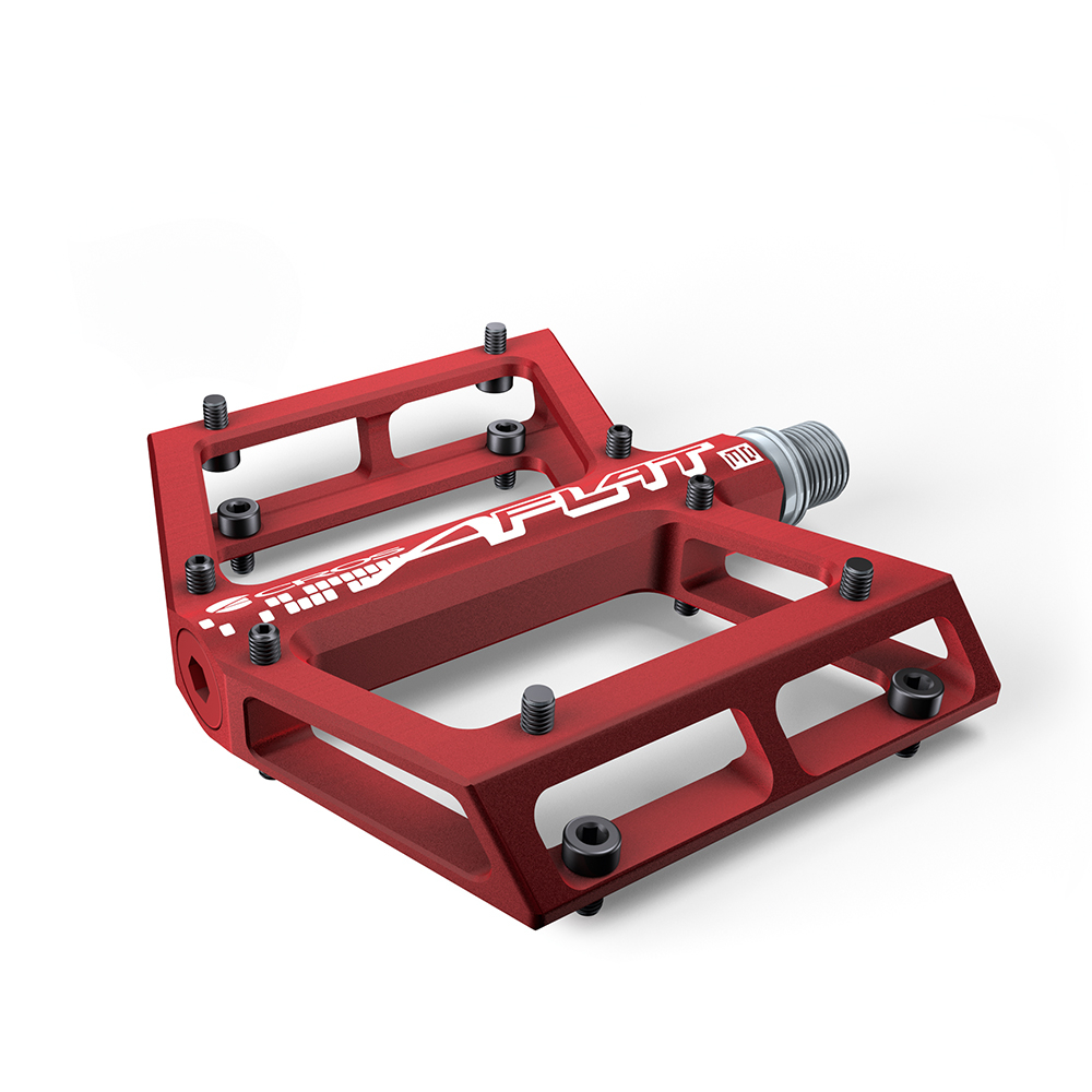 Acros A-Flat MD Pedals - Red