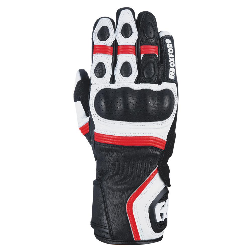 Oxford RP-5 2.0 Glove White Black & Red