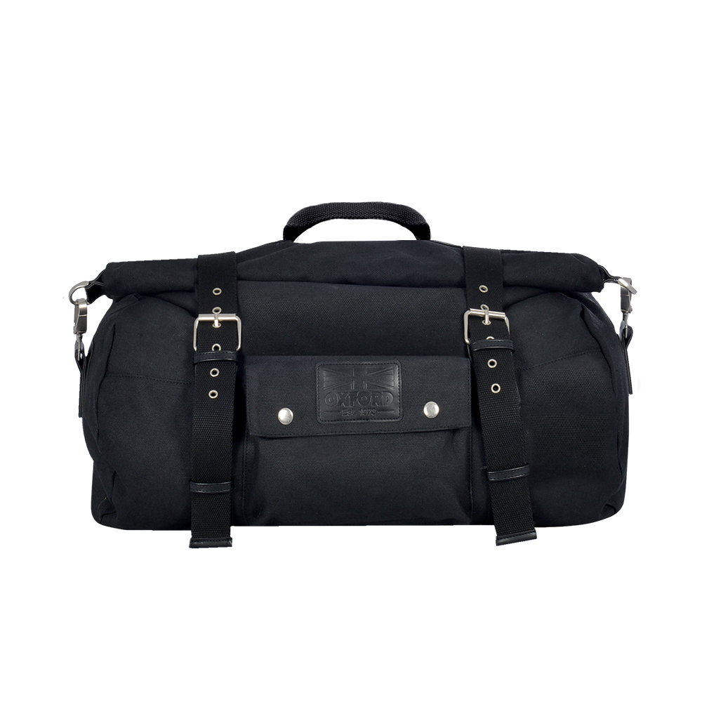 Oxford Heritage Roll Bag Black 30L