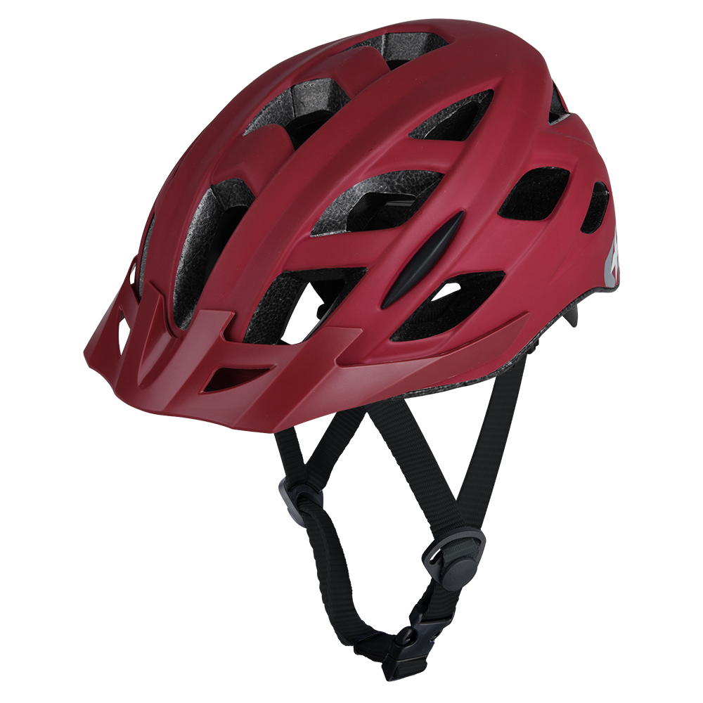 Oxford Metro-V Bicycle Cycle Bike Helmet Met red