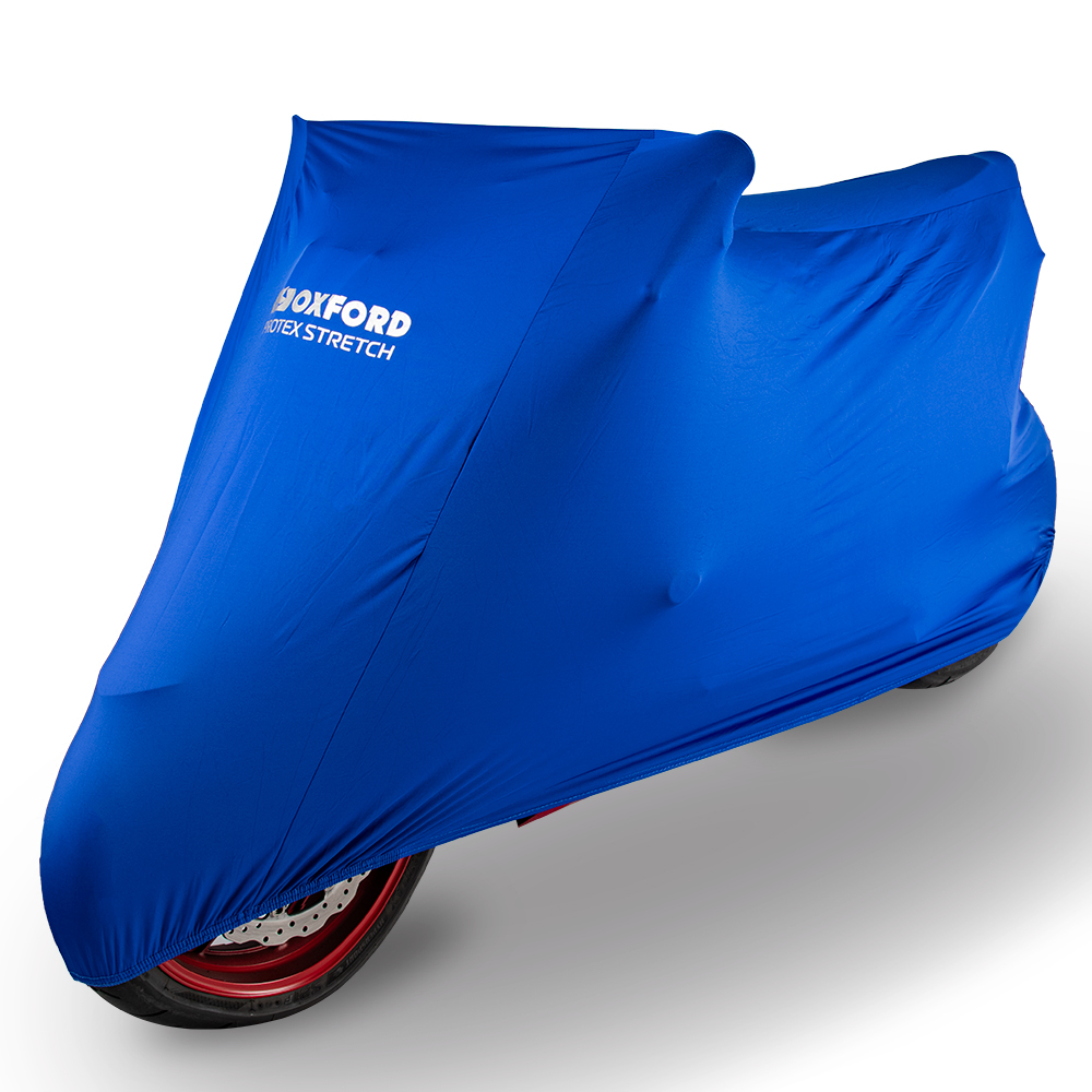 Oxford Protex Stretch Indoor Premium Stretch-Fit Cover Blue