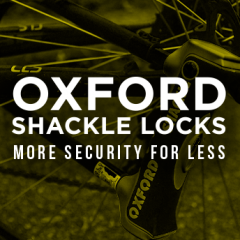 Oxford Shackle Locks - Now from only £24.99