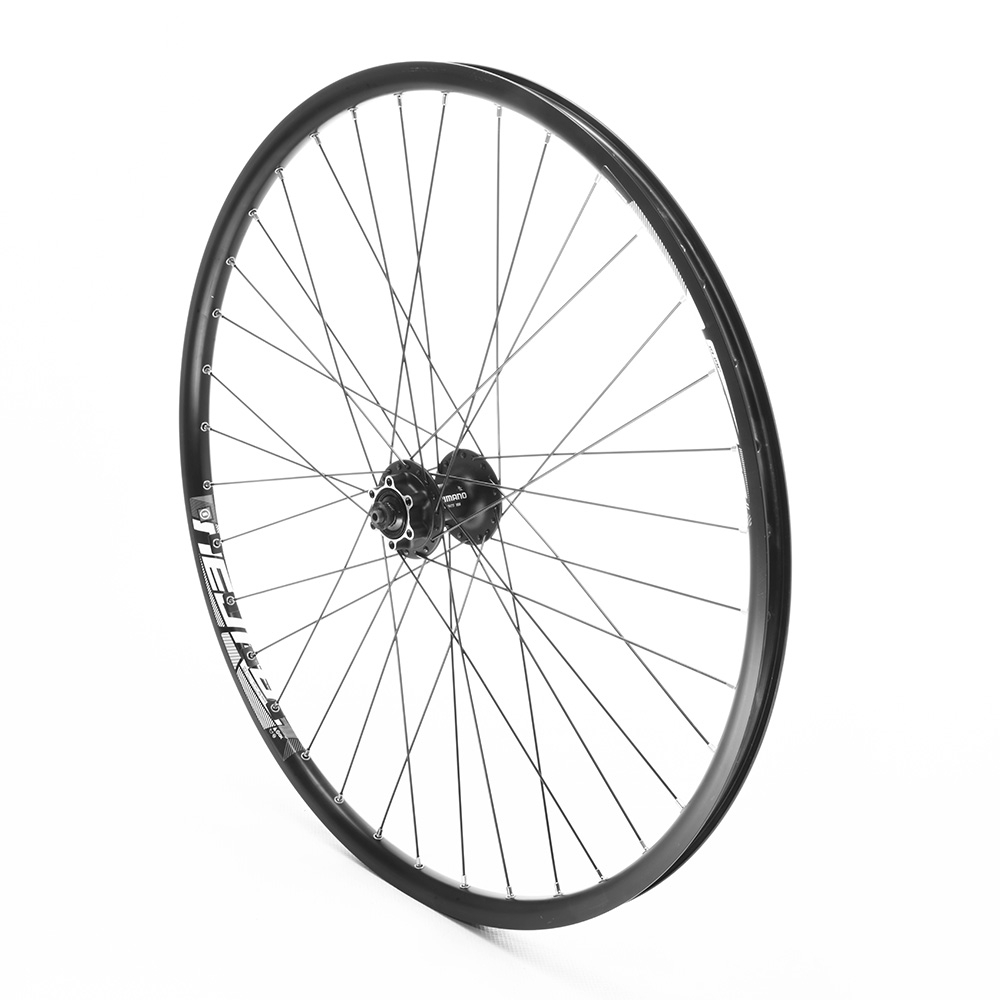Front Wheel 27.5 MTB Black Double Wall Disc Only