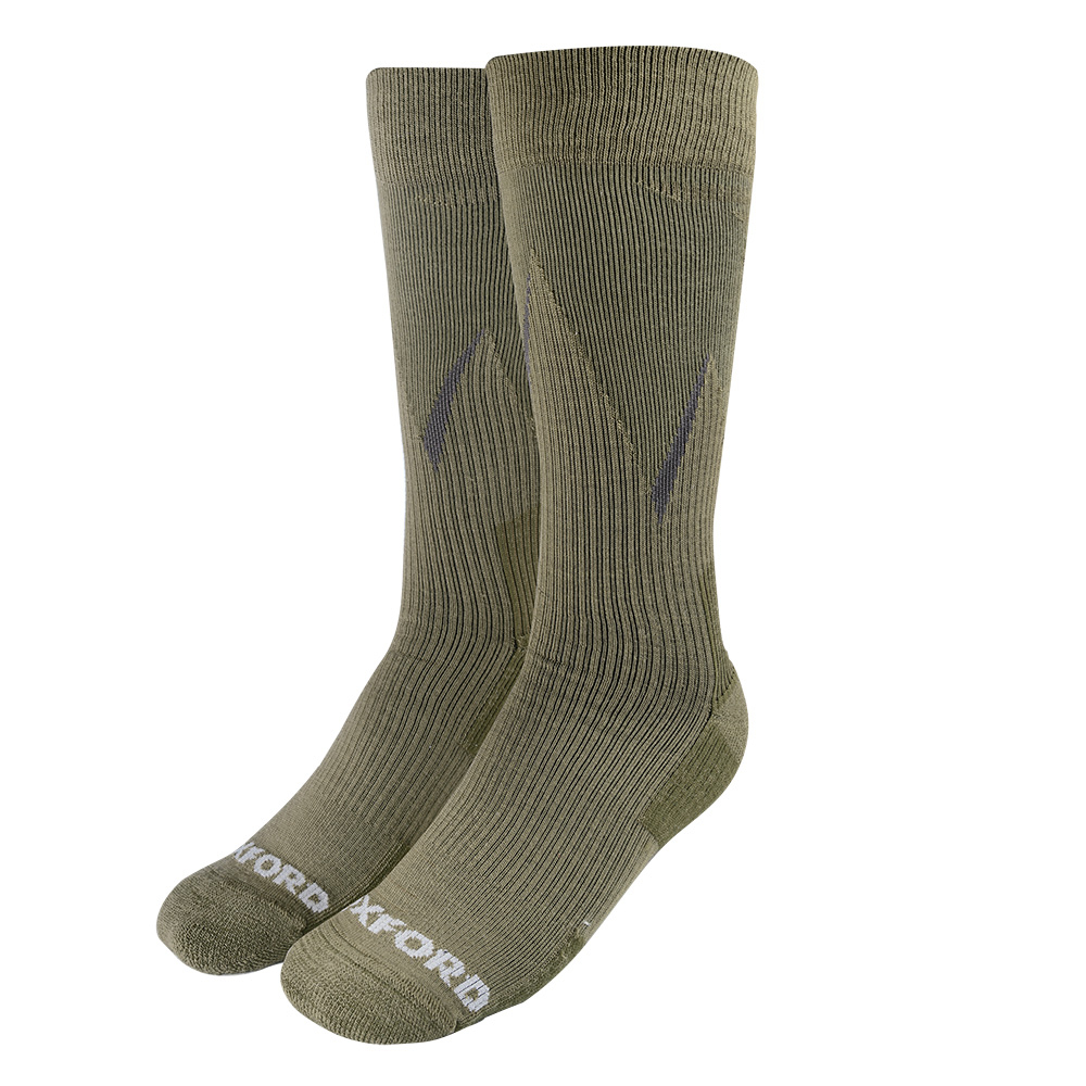 Oxford Merino Oxsocks Khaki