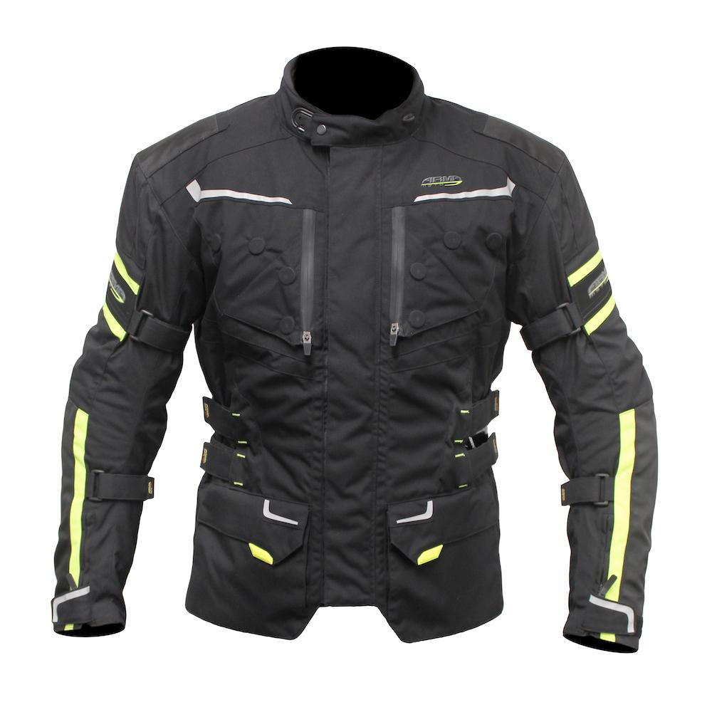 ARMR Kumaji 2 Jacket - Black & Fluo Yellow