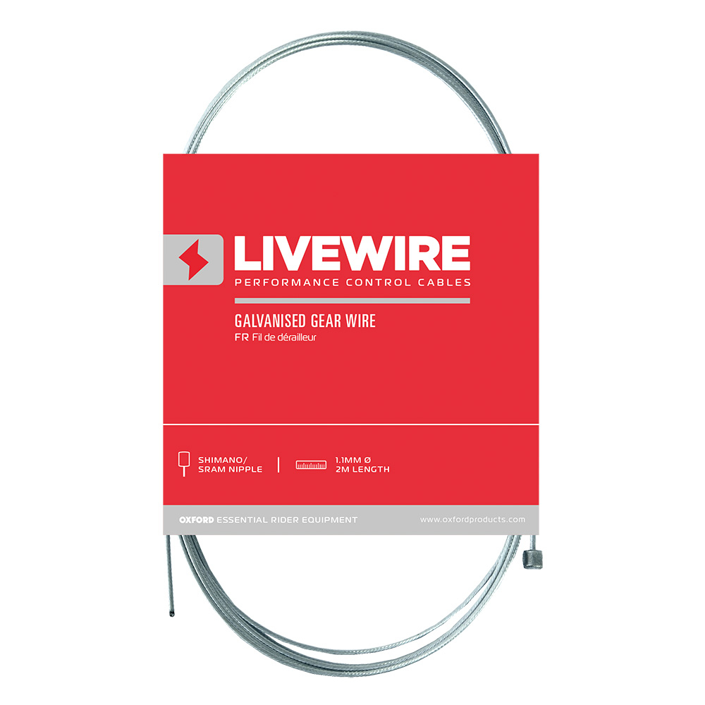 LiveWire Stainless Steel Gear Wire 1.2mm x 2300mm