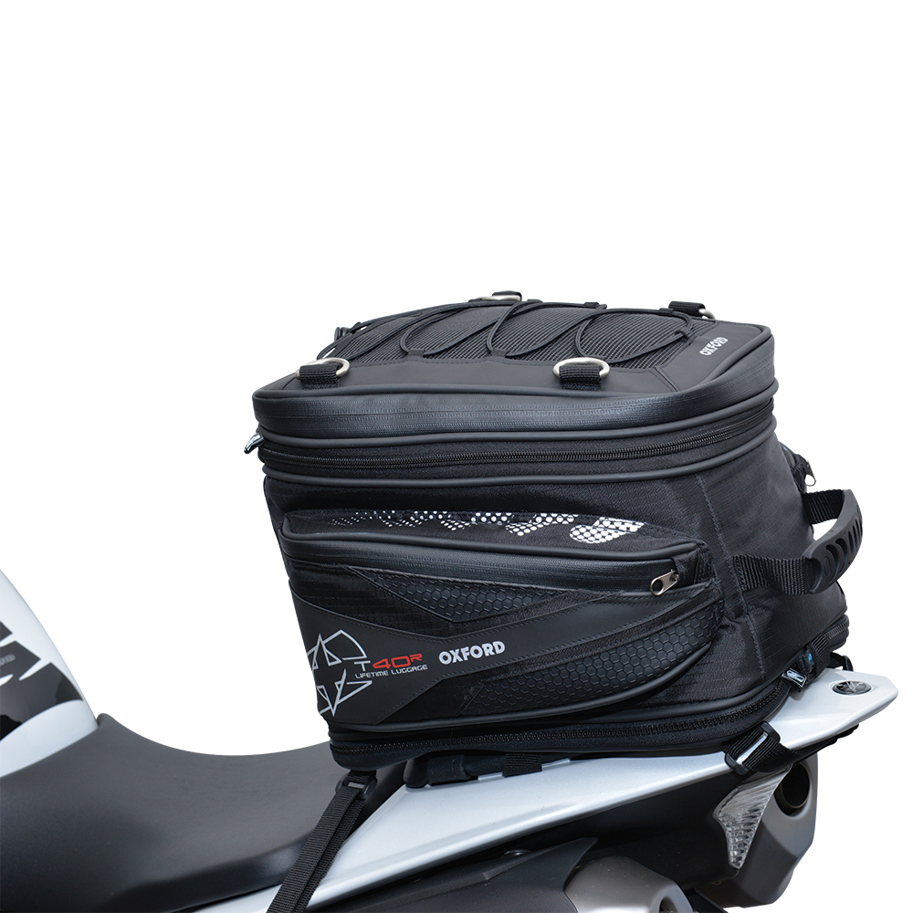 Oxford T40R TAILPACK - BLACK